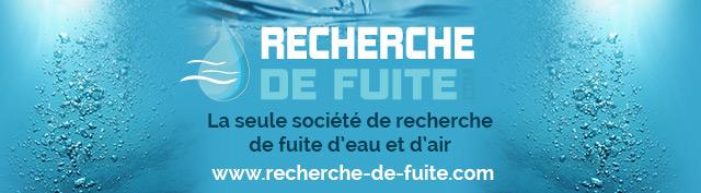 Recherche-De-Fuite.com : La recherche de fuite d'eau et d'air en France