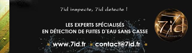 7ID, les experts spécialisés en recherche de fuites d'eau sans casse