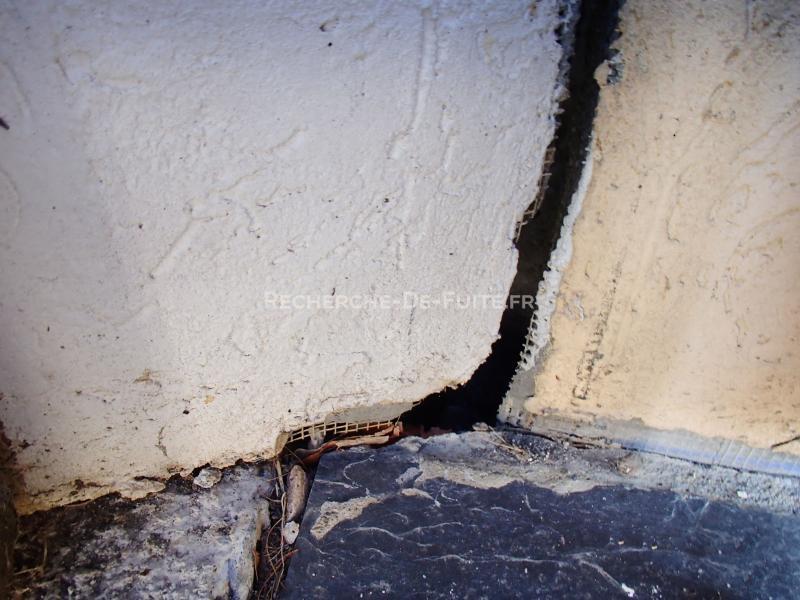 D gats - Infiltration eau plafond appartement ...