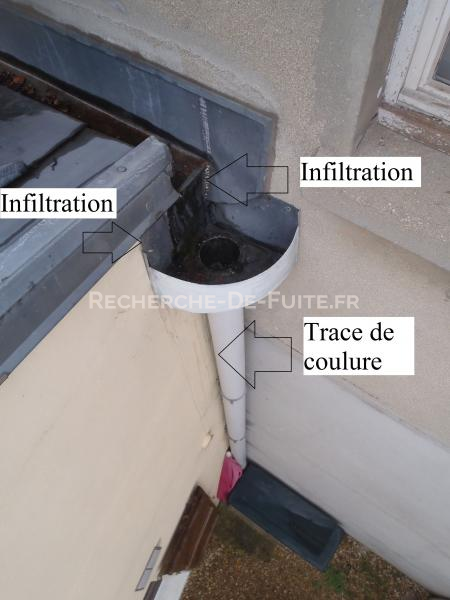Eau pluviale - Evacuation eau de pluie terrasse ...