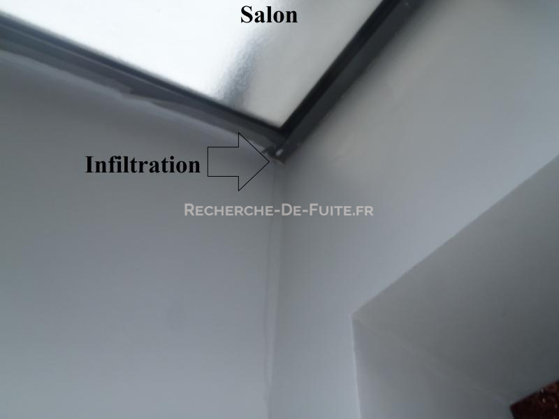 Plafond - Infiltration eau plafond appartement ...